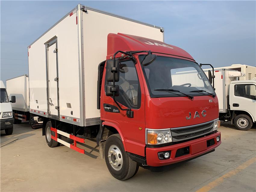 江淮骏铃V6冷藏车 云内156马力 额载1.5吨 蓝牌